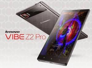 เปิดตัวโทรศัพท์มือถือLenovo  Vibe Z2 Proรองรับการใช้งาน 4G LTE จอกว้าง 6 นิ้ว ถ่ายวิดีโอความละเอียด 4k