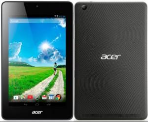 Acer Iconia One 7แท็บเล็ตจอ7นิ้ว Li-ion 3,000 mAhราคา3,290 บาท