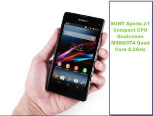 SONY  ราคามือถือ Xperia Z1 Compact ราคาล่าสุด 17,990 บาท
