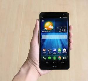 มือถือราคา 12,990 บาทAcer Liquid X1 แฟบเล็ตหน้าจอ IPS 5.7″ บาง 8.5 มม., Octa-Core, กล้อง 13 ล้าน
