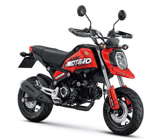 2021-Honda GROM สเปค