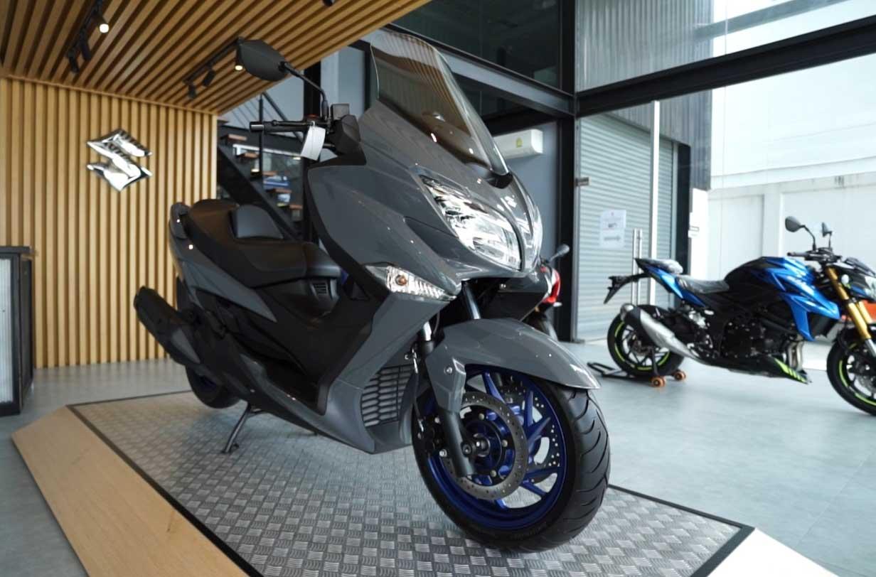 Suzuki-Burgman-400-2021-ราคา